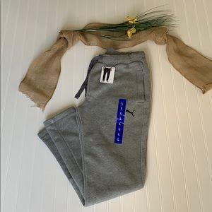 Puma men's fleece sweatpants